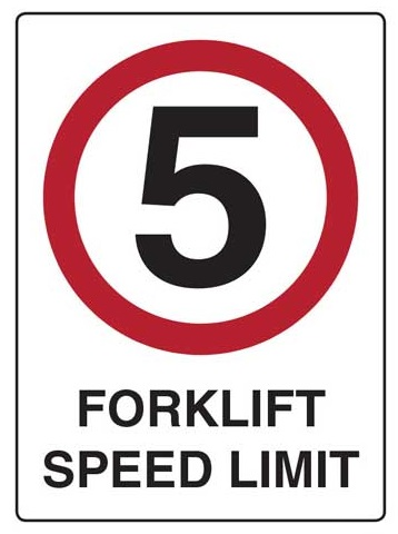 lower speed to reduce accidents